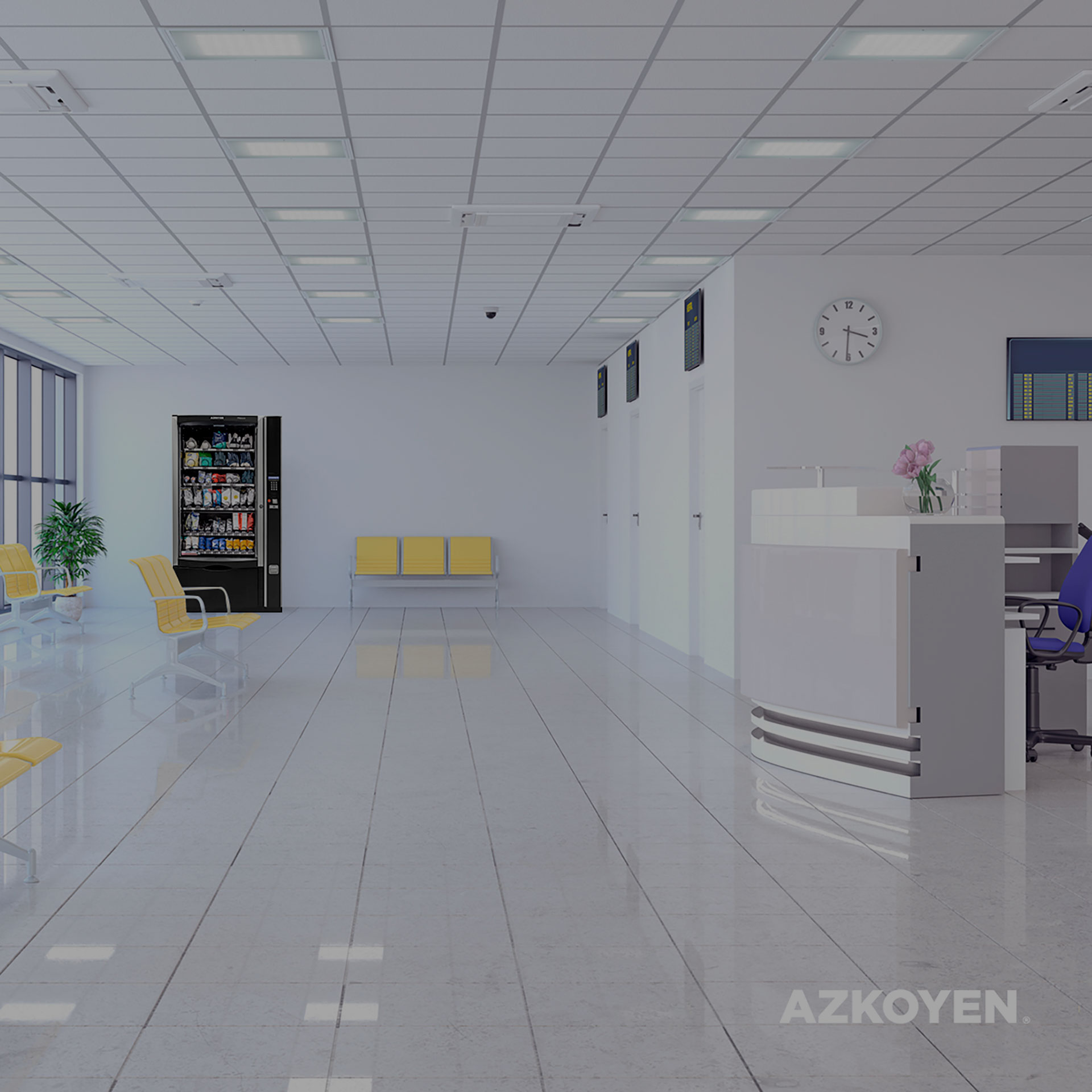 Azkoyen is working to distribute free PPE using its automatic machines